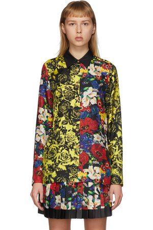 Versace SSENSE Exclusive Multicolor Silk Floral Blouse