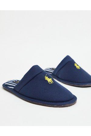 Ralph Lauren Men Slippers - Klarance mule slippers in navy