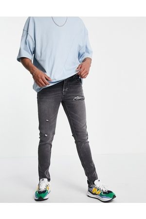 ASOS DESIGN Men Skinny - Skinny jeans in washed with abrasions