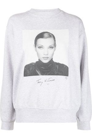 ANINE BING Kate Moss print sweatshirt