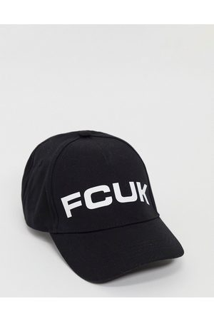 French Connection Men Caps - Cap in white and