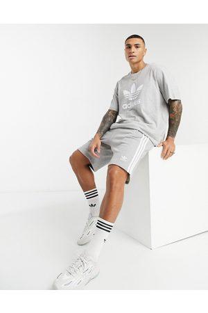 adidas Adicolor three stripe short in