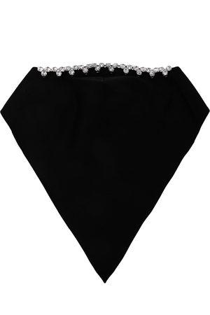 AREA Stretch-cotton shawl scarf