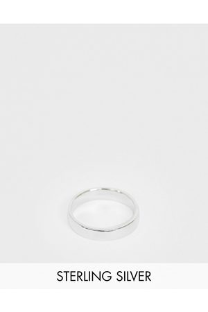 ASOS Sterling band ring in