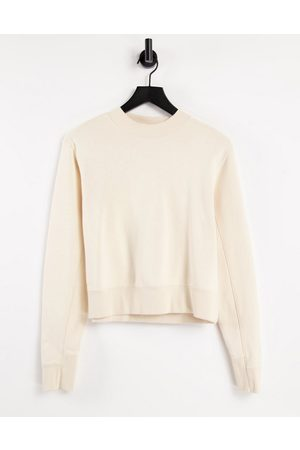 PUMA Infuse crew sweatshirt in cream