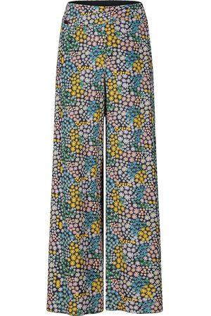 PORTSPURE Floral print palazzo pants