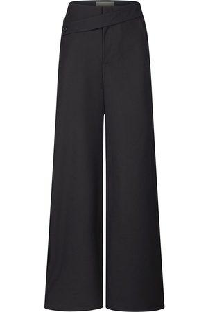 PORTSPURE Wide leg palazzo trousers
