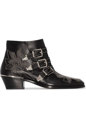 Chloé Susan 30mm studded ankle boots