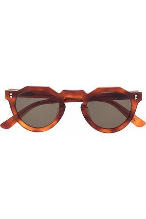 LESCA Pica round-frame sunglasses