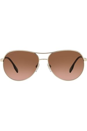 Burberry Eyewear Tara metal aviator sunglasses