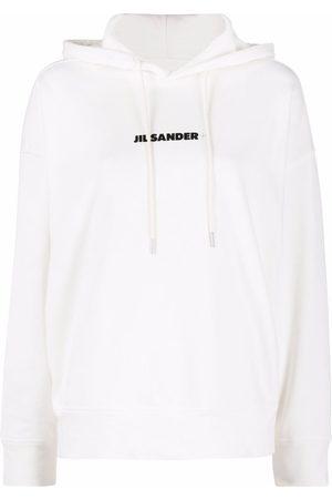 Jil Sander Logo-print cotton hoodie