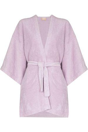 TERRY La Toga fleece-texture jacket