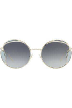 Miu Miu Women Sunglasses - Round-frame tinted sunglasses