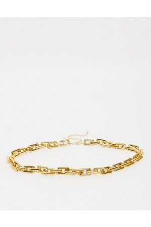 ASOS Square chain waist and hip belt