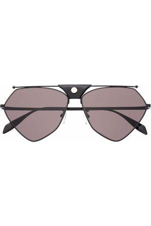 Alexander McQueen Abstract aviator frame sunglasses