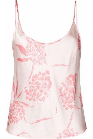 La Perla Floral camisole silk top