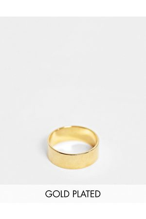 ASOS Band ring with 14k plate
