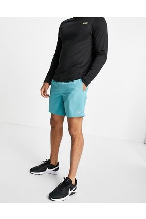 ASOS Icon training shorts with quick dry in turquoise