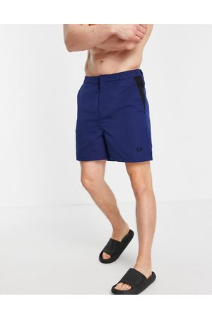 Fred Perry Contrast panel swim shorts in