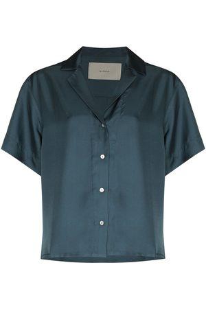 ASCENO Prague short-sleeve pyjama shirt
