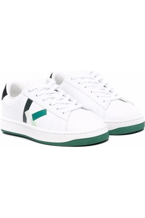 Kenzo Boys Sneakers - Logo-print low-to sneakers