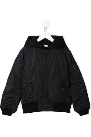 Dolce & Gabbana Boys Bomber Jackets - Hooded bomber jacket