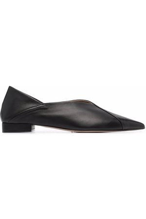 Scarosso Pointed ballerina shoes