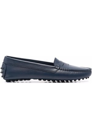 Scarosso Ashley almond-toe loafers