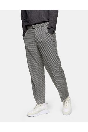 Topman Men Chinos - Wide leg trousers in and white check