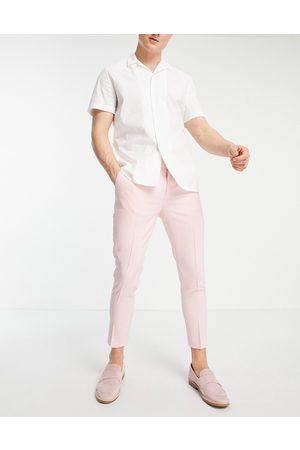 ASOS Super skinny smart trouser in cross hatch