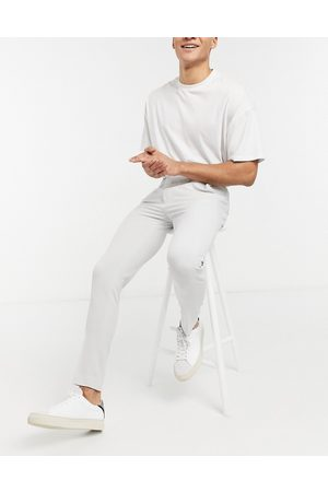 ASOS Super skinny suit trousers in ice