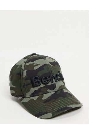Bench Large logo cap in olive camo