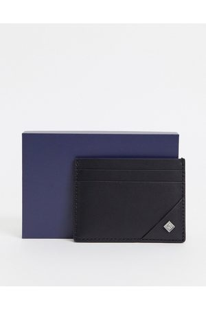 GANT Leather cardholder in with small logo