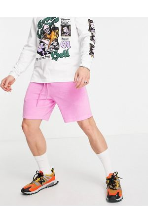 ASOS Co-ord oversized towelling shorts in