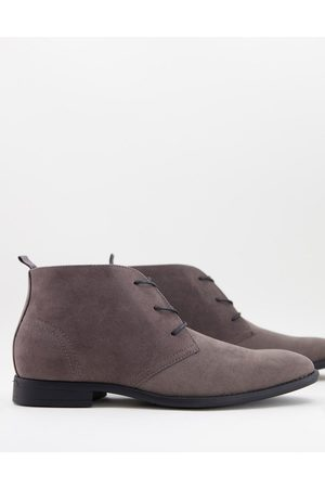 ASOS Chukka boots in faux suede