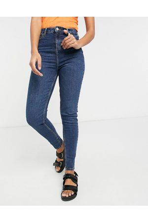 Miss Selfridge Emily Tall high waist ankle grazer skinny jean in dark