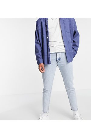 COLLUSION X003 tapered jeans in light wash