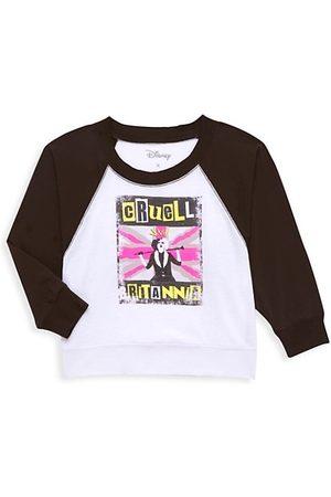 Chaser Disney's Cruella Little Girl's & Girl's Britannia Long-Sleeve T-Shirt