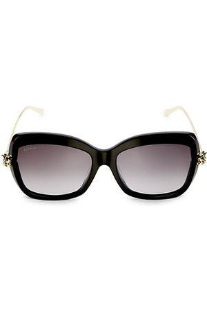 Cartier 55MM Cat Eye Sunglasses