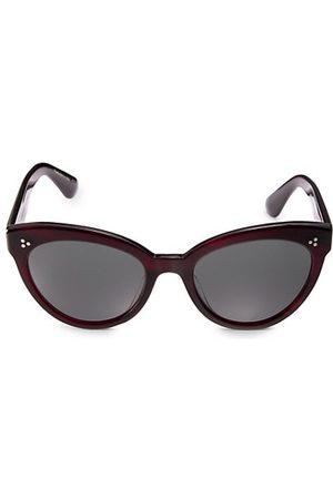 Oliver Peoples Sunglasses - Roella 55MM Cat Eye Sunglasses