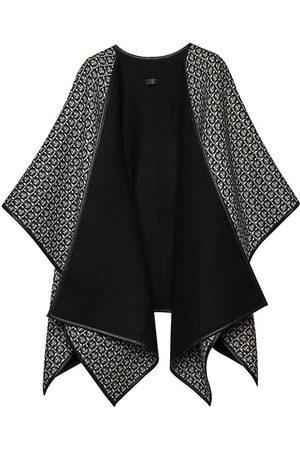 Salvatore Ferragamo Scarves - New New Ganc Wool & Leather-Trim Stole