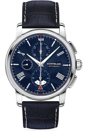Mont Blanc Watches - 4810 Automatic Stainless Steel & Alligator Strap Chronograph Watch