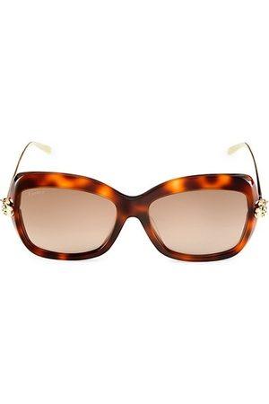 Cartier Sunglasses - 57MM Cat Eye Sunglasses