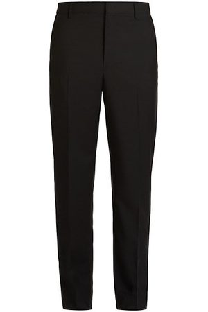 VALENTINO Men Formal Pants - Wool & Mohair Straight-Fit Pants