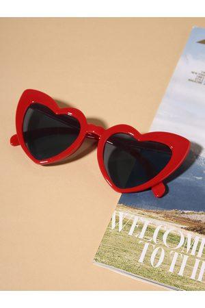 YOINS Heart Frame Sunglasses
