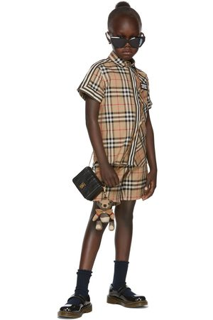 Shorts - Burberry Kids Vintage Check Tailored Shorts