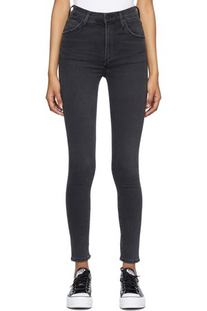 Citizens of Humanity Black Chrissy High Rise Skinny Jeans