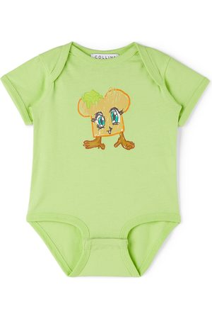 Collina Strada SSENSE Exclusive Baby Toast Printed Bodysuit