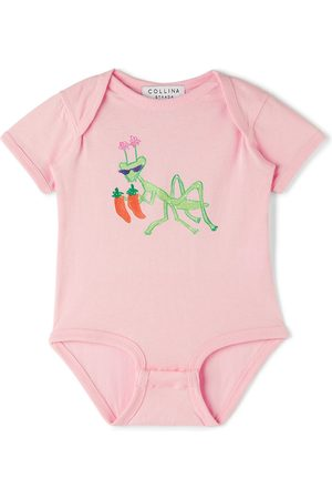 Collina Strada SSENSE Exclusive Baby Hot Mantis Bodysuit