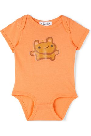 Collina Strada SSENSE Exclusive Baby Bear Printed Bodysuit